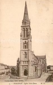 AK / Ansichtskarte Bergerac Eglise Notre Dame Bergerac