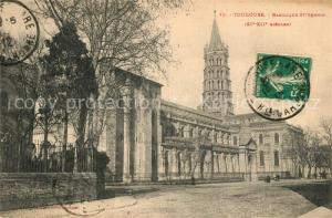 AK / Ansichtskarte Toulouse_Haute Garonne Basilique Saint Sernin XIIe siecle Toulouse Haute Garonne