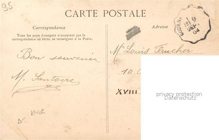 AK / Ansichtskarte Pontoise_Val d_Oise Vue prise du Labyrinthe  1