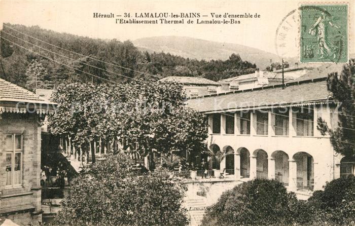 AK / Ansichtskarte Lamalou les Bains Etablissement Thermal Lamalou les Bains 0