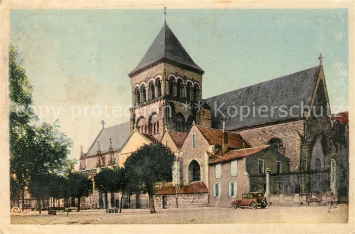AK / Ansichtskarte Thouars_ Deux Sevres Eglise Saint Laon  0