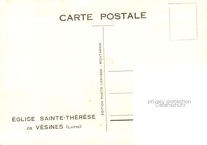 AK / Ansichtskarte Vesines Eglise Sainte Therese Vesines 1