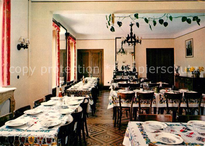 AK / Ansichtskarte Obernai_Bas_Rhin Maison Familiale de Vacances Chateau de Hell Restaurant Obernai_Bas_Rhin 0