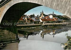 AK / Ansichtskarte Argentat Le quai et les vieilles maisons au bord de la Dordogne Argentat