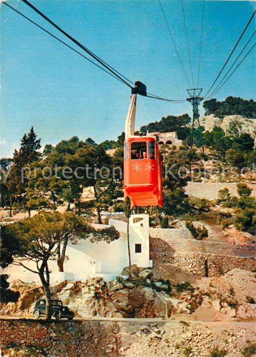AK / Ansichtskarte Toulon_Var Telepherique du Super Toulon Cote d Azur Toulon_Var 0