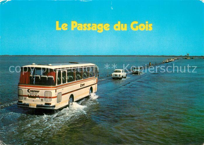 AK / Ansichtskarte Ile_de_Noirmoutier Passage du Gois Ile_de_Noirmoutier 0