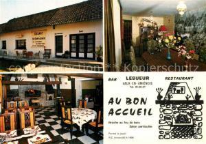 AK / Ansichtskarte Vaux en Amienois Bar Restaurant Lesueur Vaux en Amienois