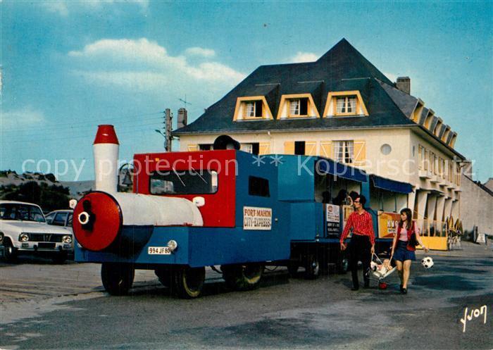 AK / Ansichtskarte Fort Mahon Plage Petit Train City Express Collection Couleurs et Lumiere de France Fort Mahon Plage 0