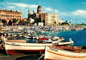 AK / Ansichtskarte Saint Raphael_Var Le port Cote d Azur Saint Raphael Var