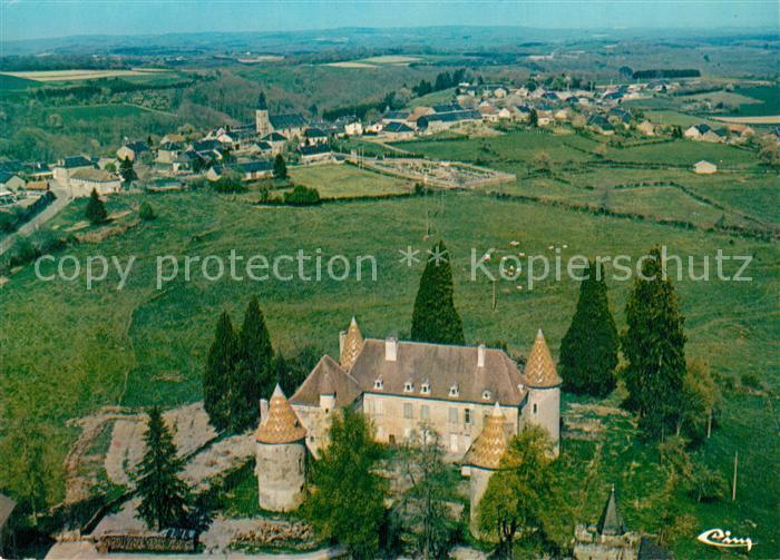 AK / Ansichtskarte Menessaire Chateau vue aerienne Menessaire 0