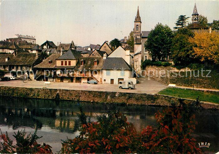 AK / Ansichtskarte Argentat Vieilles maisons au bord de la riviere Argentat 0