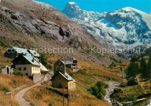 AK / Ansichtskarte Fouillouse Village Le Brec de Chambeyron Haute Vallee de l Ubaye Alpes Fouillouse
