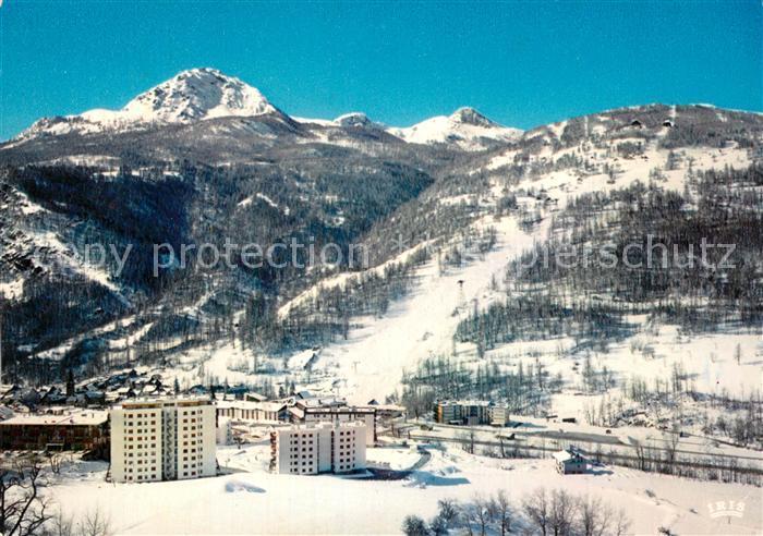 AK / Ansichtskarte Serre_Chevalier Vue des pistes Sports d hiver Alpes Serre Chevalier 0