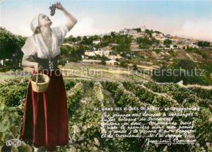AK / Ansichtskarte Berry_Region Dans les vignes du Berry La Grappeteuse Berry Region