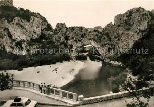 AK / Ansichtskarte Vallon Pont d_Arc Gorges de l Ardeche Pont d Arc Grands Paysages du Vivarais Vallon Pont d Arc