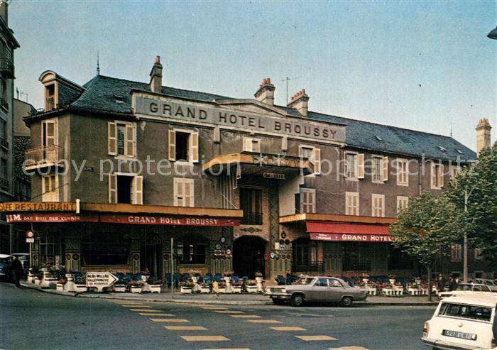 AK / Ansichtskarte Rodez Grand Hotel Broussy Rodez 0