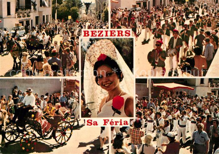 AK / Ansichtskarte Beziers Scenes de la Feria Beziers 0
