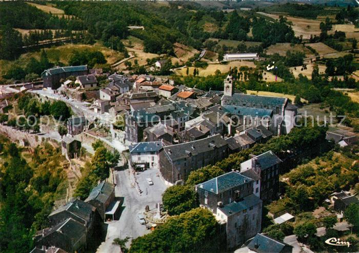 AK / Ansichtskarte La_Salvetat sur Agout Vue aerienne centre ville La_Salvetat sur Agout 0