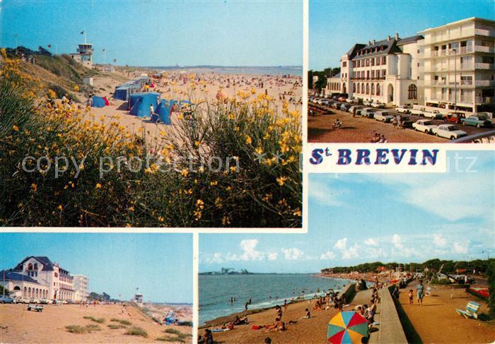 AK / Ansichtskarte Saint Brevin les Pins Vues sur les plages Promenade Hotels Saint Brevin les Pins 0