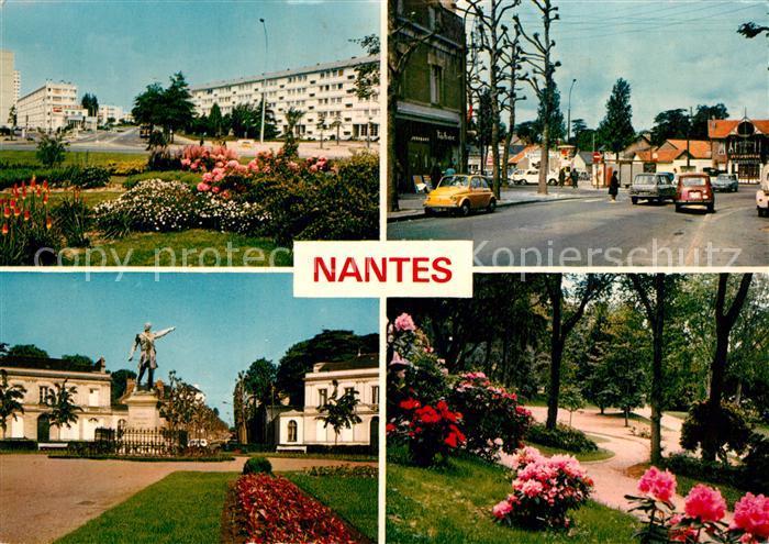 AK / Ansichtskarte Nantes_Loire_Atlantique Place Mellinet Place des Chataigniers Parc de Proce Place Zola des fleurs Nantes_Loire_Atlantique 0
