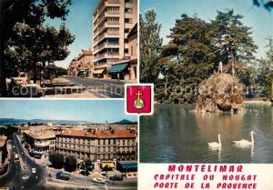 AK / Ansichtskarte Montelimar Boulevard Desmarais Place d Aygu Piece d eau du parc Montelimar