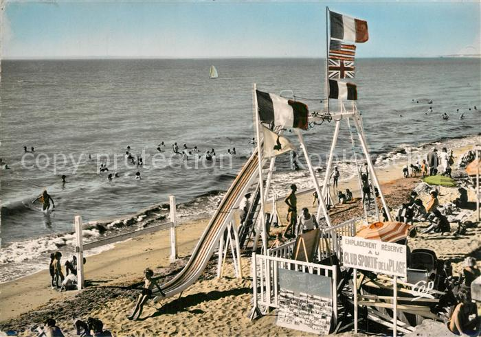 AK / Ansichtskarte Tharon Plage Jeux sur la plage Tharon Plage 0