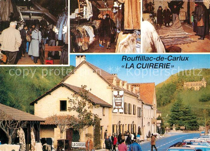 AK / Ansichtskarte Rouffilhac La Cuirerie Specialiste du Vetement Rouffilhac 0
