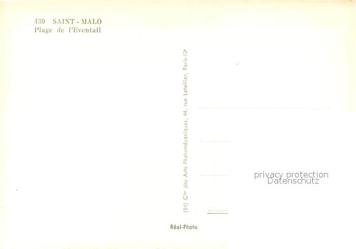 AK / Ansichtskarte Saint Malo_Ille et Vilaine_Bretagne Plage de l Eventail Saint Malo_Ille et Vilaine 1