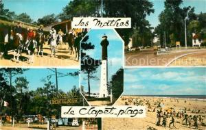 AK / Ansichtskarte Les_Mathes Clapet Plage Ranch Carrefour Phare de la Coubre Camping Les_Mathes