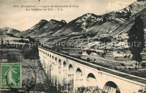 AK / Ansichtskarte Grenoble Viaduc Ligne de Grenoble a Gap Alpes Grenoble