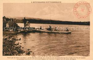 AK / Ansichtskarte Aydat Aux bords du lac Aydat