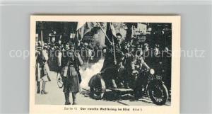 AK / Ansichtskarte Militaria_Deutschland_WK2 Von N?rnberg bis Stalingrad Dreim?chtepakt Der Putsch in Belgrad Eilebrecht Zigaretten
