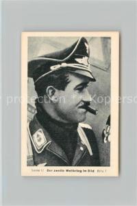 AK / Ansichtskarte Militaria_Deutschland_WK2 Von N?rnberg bis Stalingrad Luftschlacht um England Jagdflieger Adolf Galland Eilebrecht Zigaretten