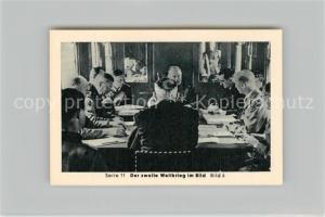 AK / Ansichtskarte Militaria_Deutschland_WK2 Von N?rnberg bis Stalingrad Waffenstillstand Wald von Compiegne Eilebrecht Zigaretten
