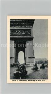 AK / Ansichtskarte Militaria_Deutschland_WK2 Von N?rnberg bis Stalingrad Waffenstillstand Arc de Triomphe Eilebrecht Zigaretten