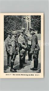 AK / Ansichtskarte Militaria_Deutschland_WK2 Von N?rnberg bis Stalingrad Waffenstillstand Die Unterh?ndler Eilebrecht Zigaretten