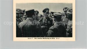 AK / Ansichtskarte Militaria_Deutschland_WK2 Von N?rnberg bis Stalingrad Waffenstillstand Einmarsch in Paris Eilebrecht Zigaretten