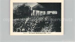 AK / Ansichtskarte Militaria_Deutschland_WK2 Von N?rnberg bis Stalingrad D?nkirchen Eilebrecht Zigaretten