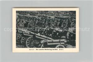 AK / Ansichtskarte Militaria_Deutschland_WK2 Von N?rnberg bis Stalingrad Durchbruch in Frankreich Gulaschkanonen und Gesch?tze Eilebrecht Zigaretten