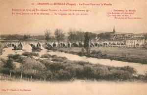 AK / Ansichtskarte Charmes_sur_Moselle Le Grand Pont sur la Moselle