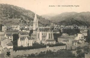 AK / Ansichtskarte Vals les Bains Eglise Vals les Bains