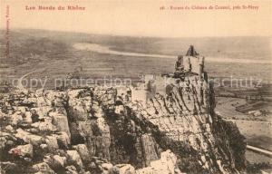AK / Ansichtskarte Saint Peray Ruines du Chateau de Crussol Saint Peray