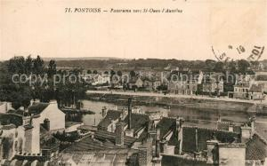 AK / Ansichtskarte Pontoise_Val d_Oise Panorama vers St Quen l Aumone