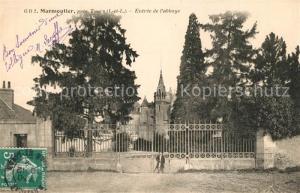 AK / Ansichtskarte Marmoutier_Indre et Loire Entree de l abbaye Marmoutier Indre et Loire