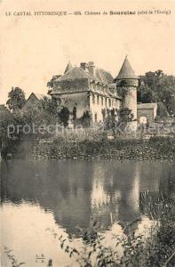 AK / Ansichtskarte Mauriac_Cantal Chateau de Sourniac Mauriac Cantal