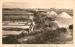 AK / Ansichtskarte Les_Sables d_Olonne Les Marais Salants Les_Sables d_Olonne