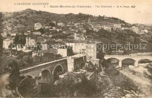 AK / Ansichtskarte Saint Martin de Valamas Vue generale Saint Martin de Valamas
