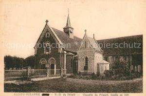 AK / Ansichtskarte Sainte Suzanne_Ariege ND du Desert Chapelle du Prieure fondee en 1125 Sainte Suzanne Ariege