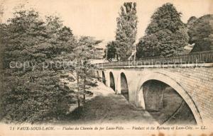 AK / Ansichtskarte Vaux_sous_Laon Viaduc du Chemin de fer Laon Ville