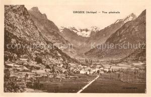 AK / Ansichtskarte Orgeix Vue generale Orgeix